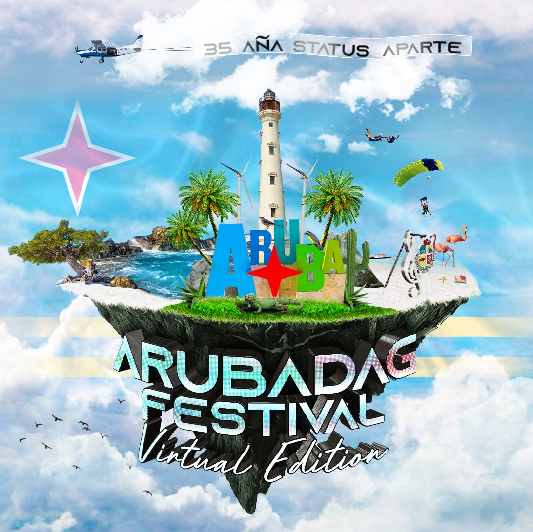 Arubadag Festival 28 Maart 2021 Virtuele editie